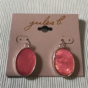 Jules B Pink Dangles NWT